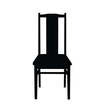 A chair for the house. Vector image.
