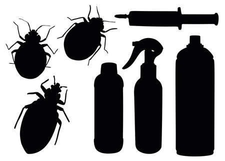 Bedbugs and remedies for them in the set.
