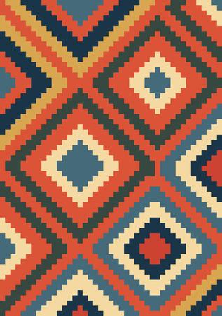 kilim: Ethnic ornament kilim