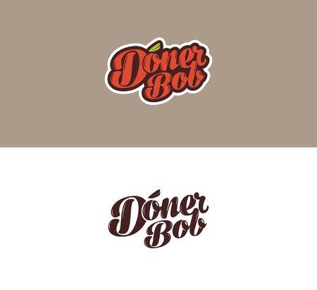 bob: Doner Bob logo Illustration
