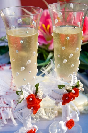 wedding champagne Stock Photo - 10871486