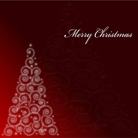 Christmas background, this illustration may be useful as designer work Vector