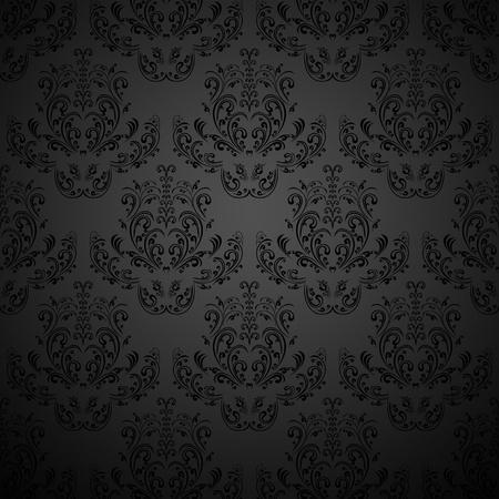 Black wallpaper  Stock Vector - 12878965