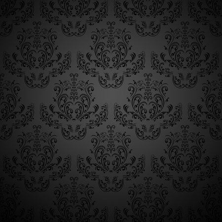 Black wallpaper Stock Vector - 12878965