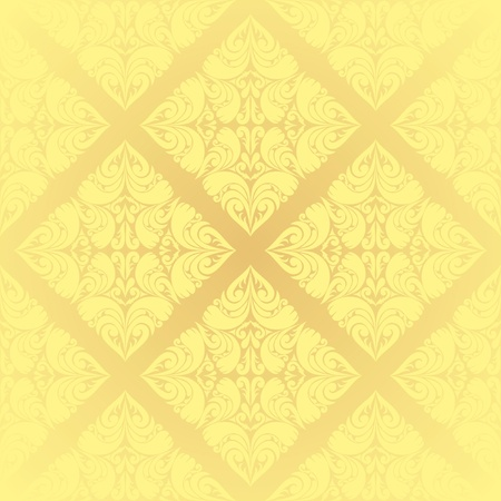 Beige wallpaper Stock Vector - 12964233