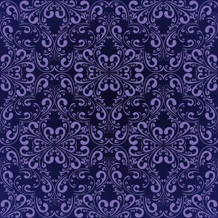 Navy blue wallpaper Stock Vector - 12964237
