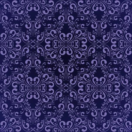 Navy blue wallpaper Stock Vector - 12964237