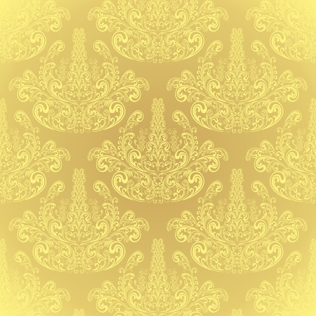 Seamless Beige wallpaper Stock Vector - 13026257