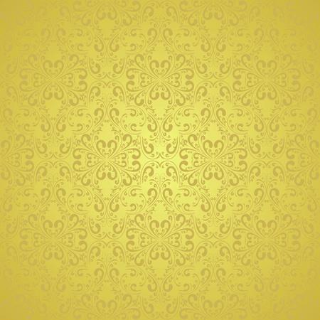 Gold wallpaper (EPS10) Stock Vector - 13387502