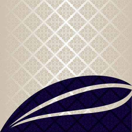 Luxury Background  silver and dark blue  EPS 10  Vector