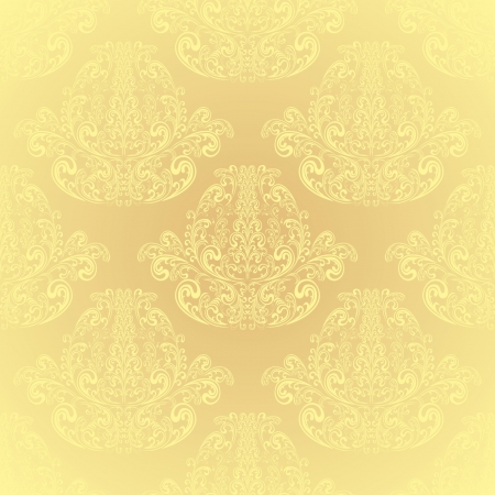 Seamless Beige wallpaper Stock Vector - 15388389