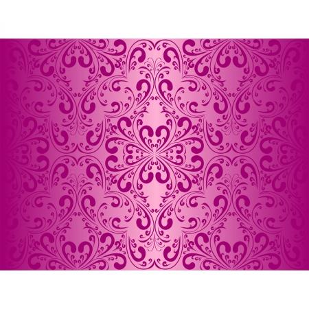 pink wall paper: Seamlesss violet wallpaper