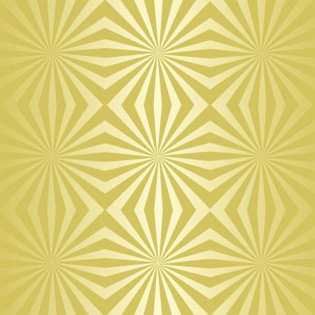 Seamless golden abstract wallpaper