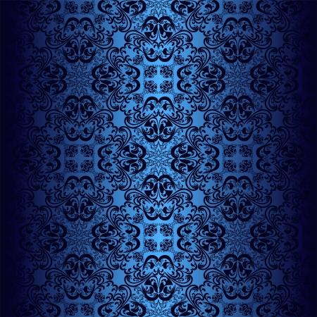Seamless dark blue wallpaper.