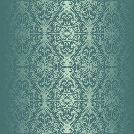 アクアマリン: ターコイズ ブルーのシームレスな壁紙。