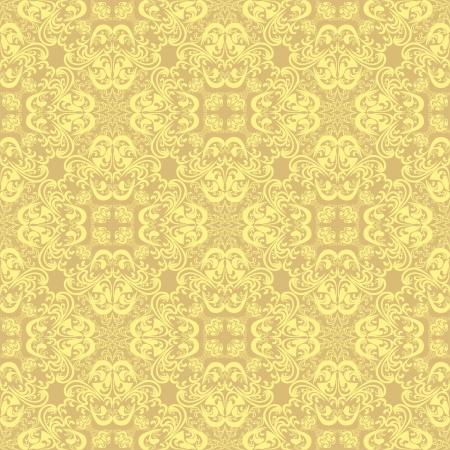 regency: Beige seamless wallpaper.