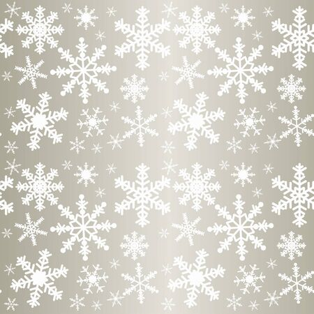 Snowflakes - seamless pattern. Stock Vector - 16878553