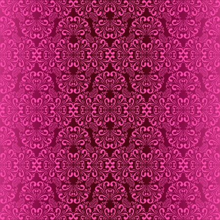 pink wall paper: Seamless violet wallpaper  Illustration