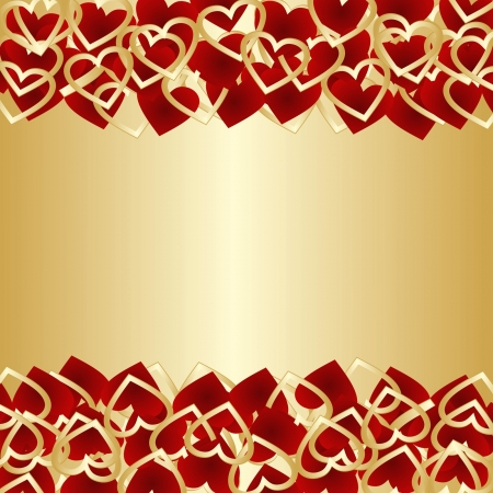 Luxury background for Valentine s day or wedding design Stock Vector - 17447130