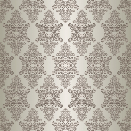 Gray seamless wallpaper. Stock Vector - 17781503