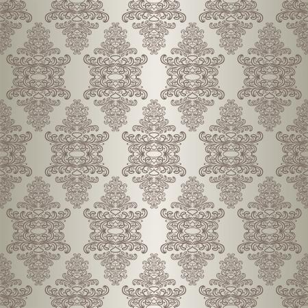 Gray seamless wallpaper. Stock Vector - 17781503