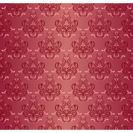 Damask seamless floral pattern. Illustration