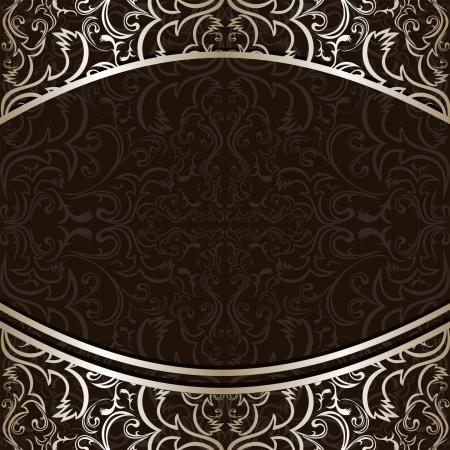 bodas de plata: Antecedentes de lujo decorado con bordes plateados ornamentales.