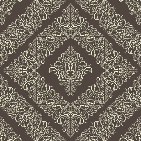 Seamless damask pattern. Stock Vector - 18022745