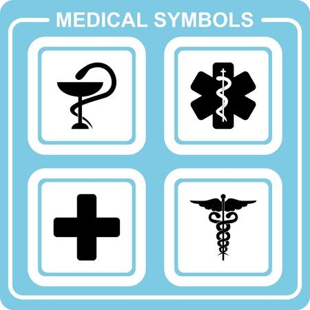 medicines: Medical symbols