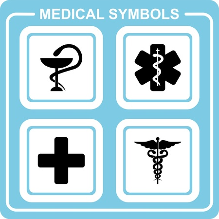 rescue service: Medical symbols
