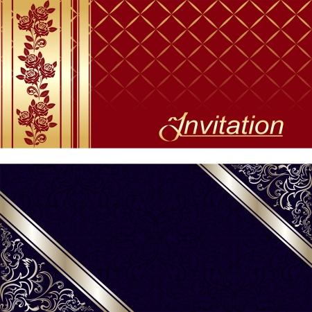 invitation card: Dise?o de tarjeta de invitaci?n