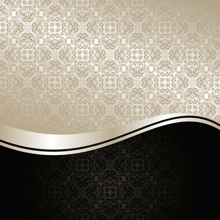 grey backgrounds: Luxury Background - silver and black