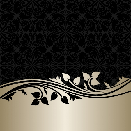 Luxury ornamental Background with silver Border