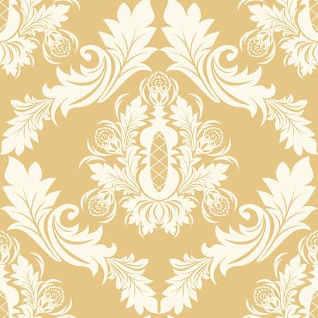 regency: Seamless retro floral Ornament