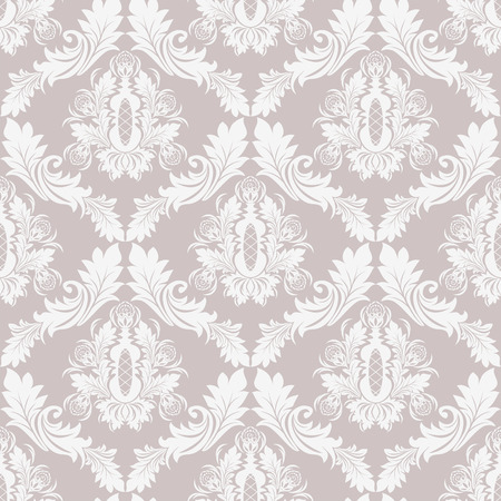 amazing wallpaper: Seamless damask retro ornate Wallpaper for design