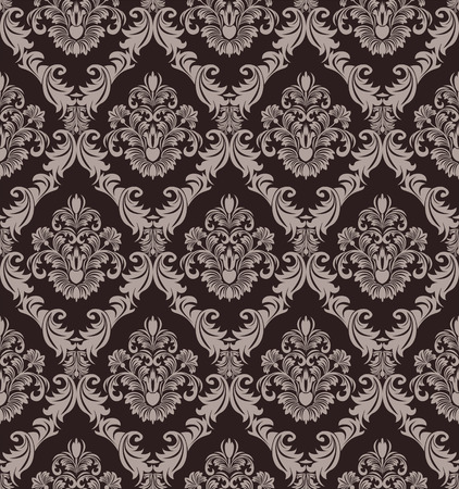 victorian wallpaper: Seamless victorian Wallpaper for design Illustration