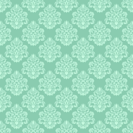 rococo: Damask seamless floral ornamental Wallpaper for design
