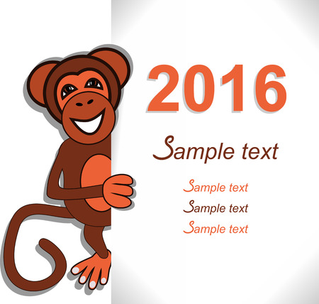 pet store advertising: Invitation Design or greeting Card for New Year.