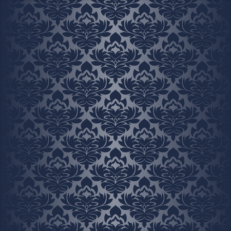 Seamless damask Wallpaper for design