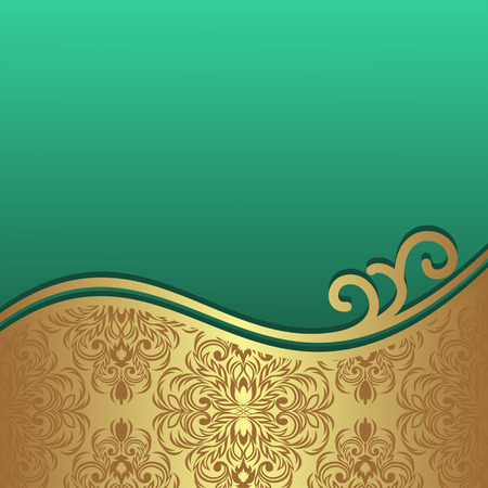Luxury Background with ornamental Border