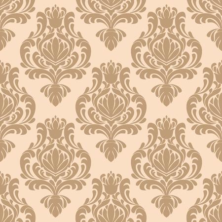 Seamless damask  retro Wallpaper for Design