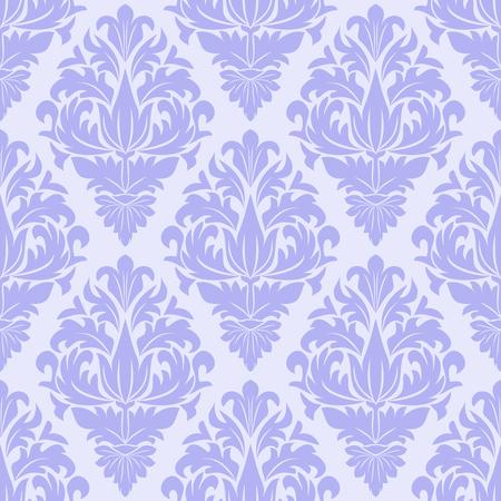 Seamless blue ornamental Pattern for Design