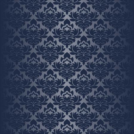Seamless damask Wallpaper for design