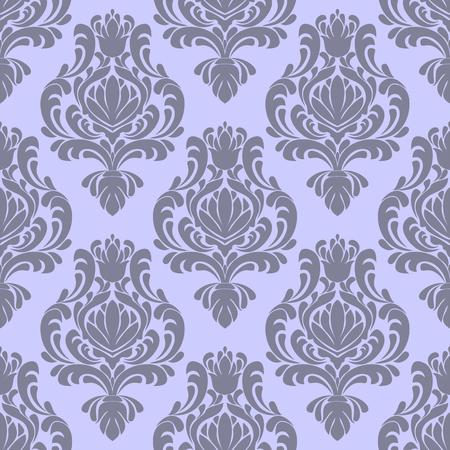 Seamless ornate damask Pattern in retro Style