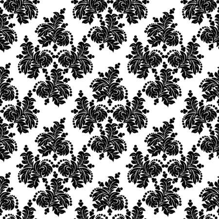Seamless floral ornamental Wallpaper- design Template