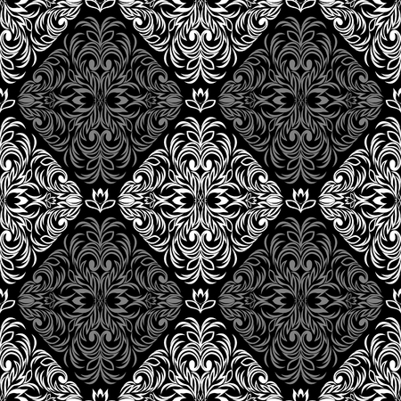 Seamless intricate floral Pattern - combination Colors