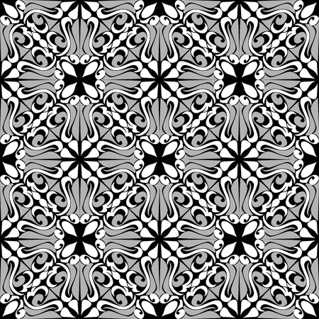 Seamless ornamental Pattern - combination Colors