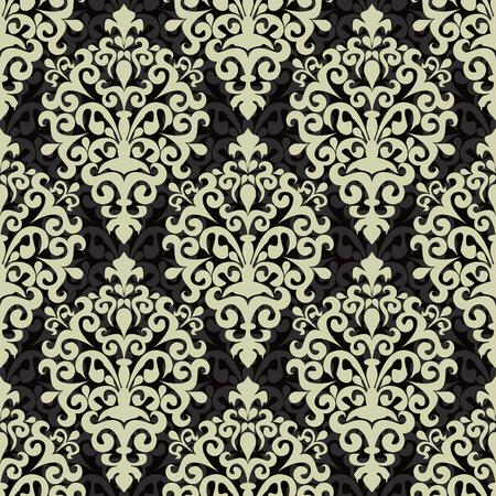 Damask seamless ornamental Wallpaper for Design