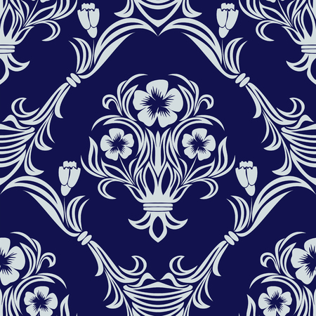 Seamless floral Ornament for Design