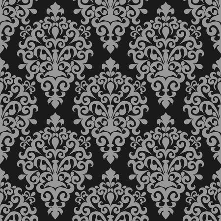 Seamless damask ornamental Wallpaper for design